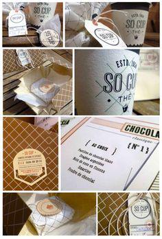 """Identité visuelle """"So Cup"""" _ Cup Cake"""