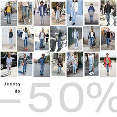 #jeansy - #50% #brandpl #wyprzedaz #jeans #denim #women #men #sale #online #onlinestore #fashion #streetfashion