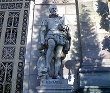 Miguel de Cervantes Saavedra,1547 - 1616 was a Spanish novelist, poet, and playwright. His magnum opus, Don Quixote, considered the first modern European novel is a classic of Western literature, and is regarded amongst the best works of fiction ever written.