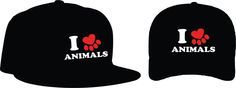 """I <3 Animals Bonés: Aba curva R$ 15,00 + frete Aba reta 20,00 + frete Personalizamos e estampamos a sua ideia: imagem, frase ou logo preferido. Envie a sua ideia ou escolha uma das """"nossas"""".... Blog: http://knupsilk.blogspot.com.br Pagina facebook: https://www.facebook.com/pages/KnupSilk-EstampariaSerigrafia/827832813899935?pnref=lhc https://twitter.com/KnupSilk"""