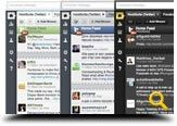 Hootsuite - awesome tool to manage multiple social networks, twitter, Facebook, LinkedIn, Foursquare, Ping.fm, Wordpress, MySpace, & mixi