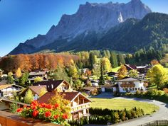 Autumn in Tirol hotel tirolerhof in Ehrwald
