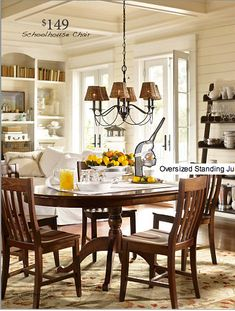 Bring light to your space with beautiful crafted chandeliers from Pottery Barn. Find wrought iron, crystal and glass chandeliers for a new take on classic designs. Mercury Glass Chandelier, Glass Chandelier Shades, Pottery Barn, Dining Room Lighting, Dining Rooms, Dining Tables, Kitchen Lighting, Cottage Style Decor, Iron Chandeliers