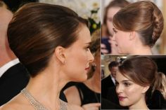 Natalie Portman - Best updos, up, do, hair, hairstyle, hairstyles, inspiration, celebrity, wedding, styles, beauty, Marie Claire