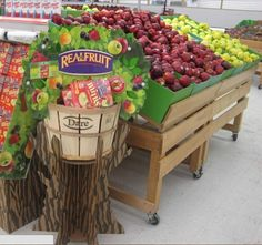 point of sale display fruit - Google Search