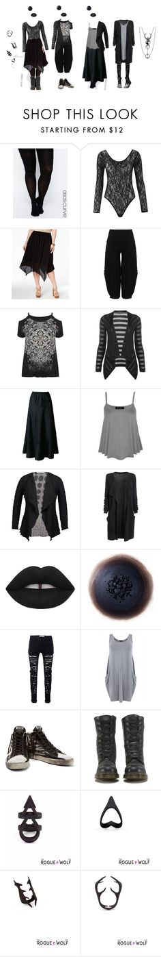"""Summer Floaty Things"" by vic-mazonas ❤ liked on Polyvore featuring ASOS Curve, Stoosh, Kekoo, Laura Ashley, Chesca, Free People, Golden Goose, Dr. Martens and plus size clothing"