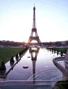 Fabulous Vew of Sunrise in Paris – World's Most Visiting Places to See