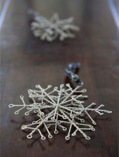 Your tree will look like it's fresh from a winter garden wonderland when trimmed with our set of small metal snowflake Christmas tree ornaments. Christmas Ornament Sets, Christmas Decorations, Holiday Decorating, Decorating Ideas, Balsam Hill, Primitive Crafts, Winter Garden, Holiday Crafts, Snowflakes