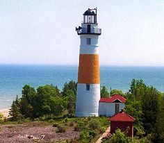 Middle Island #Lighthouse - #Michigan.    http://dennisharper.lnf.com/