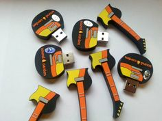 Niestandardowy projekt USB zrealizowany dla SOUND GARDEN HOTEL który mocno nawiązuje do muzyki.
