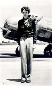 Amelia Earhart is my Grandmother's 11th cousin twice removed.  WOW!!