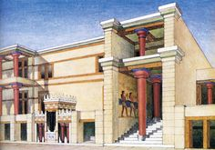 Pages of History and Science: Knossos - Palace of Minos