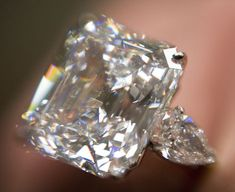 The Annenberg Diamond weighing 31.2 carats