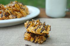 No Bake Caramel and Sea Salt Cornflake Clusters - Family Food And Travel