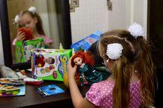 Олеся и мир: Дед Мороз и вправду умеет читать....