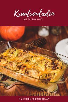 Köstliche geschmorte Krautrouladen mit Rindfleisch in einer würzigen und cremigen Paprikasauce. Achtung: Suchtgefahr! Paprika Sauce, Kraut, Pineapple, Foodblogger, Post, Dinner, Healthy Recipes, Cooking, Beef
