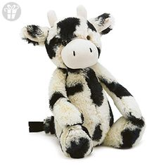 Jellycat Bashful Cow, Medium, 12 inches (*Amazon Partner-Link)