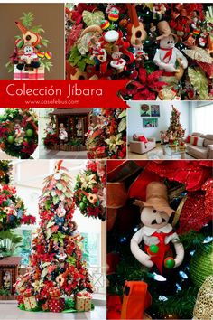 Colección Jíbara para la decoración esta Navidad!  www.casafebus.com