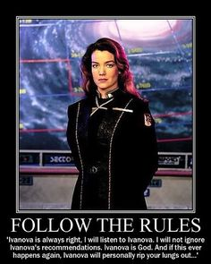 Because Ivanova is always right, like GM's. Hee hee hee I really can't pass up my Babylon 5 references.