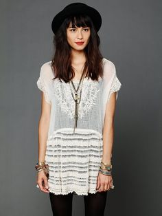 Free People Phoenix Sweater Tunic at Free People Clothing Boutique