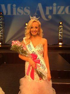 Amber Barto, Miss Arizona's Outstanding Teen 2014