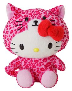 Pink leopard Hello Kitty...my daughter would love this.