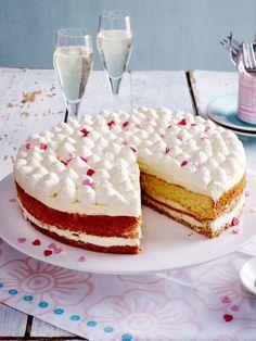 Kuchen zum Muttertag: Leckere Backideen für Mama | Wunderweib Nutella, Vanilla Cake, Tiramisu, Donuts, Cheesecake, Food And Drink, Cupcakes, Ethnic Recipes, Desserts