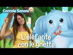 L'elefante con le ghette - Dance with Greta - Italian Songs for Children by Coccole Sonore Canti, Dancing Baby, Kids Songs, Montessori, Family Guy, Children, Youtube, Fictional Characters, Cartoons