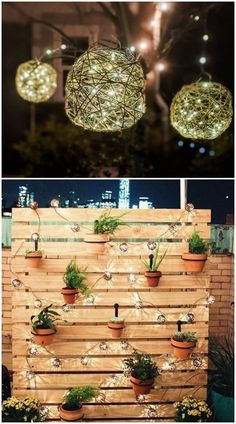 DIY outdoor lights simple and easy ideas for homes - Craftionary String Lanterns, Hanging Lanterns, Ball Lights, Tea Lights, Solar Lights, Fairy Lights, Christmas Lights Etc, Floating Flowers, Mason Jar Lighting