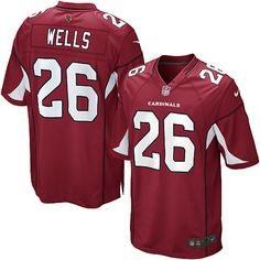 Men Nike Arizona Cardinals #26 Chris Wells Limited Red Team Color NFL Jersey Sale