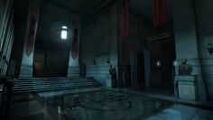 """""""Dishonored"""" concept art by Robert Larsson"""