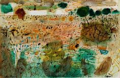 Standing maize and cut maize, La Gua, Toulon, 1967 by John Piper © The Piper Estate / DACS/Artimage Photo: Luke Piper Landscape Art, Landscape Paintings, Landscapes, John Piper Artist, British Wildlife, Flower Aesthetic, Modern Landscaping, Art Techniques, Painting Inspiration