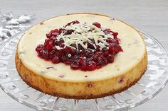 Anna Olson's Best Cheesecake Recipes Cranberry Cheesecake, Best Cheesecake, Cheesecake Recipes, Dessert Recipes, Fun Recipes, Holiday Recipes, Cooking Recipes, Best Christmas Desserts, Breads