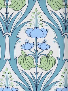 This chic Amy Butler wallpaper will add a sophisticated feel to any room. Get it now from AmericanBlinds.com