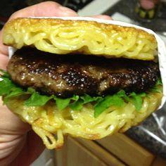 Holy moly, probieren! Ramen-Burger in New York ist der nächste Verkaufsschlager.