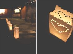 dónde consigo estoooo?!?!?!? - candles bags wedding lights - http://amylewinphotography.wordpress.com/