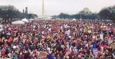 Women's March Is The Largest Protest In US History. Donald Trump wound up fulfilling his promise that his inauguration would break records, just probably not in the way he had in mind. The Women's March, an anti-Trump protest aimed at standing up for women's rights, is now estimated to be the largest one-day protest in United States history.
