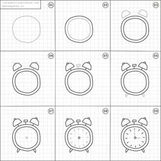 Learn how to draw fun things with easy instructions, also great for/to do with kids! Twice a week new random things to draw online.❤