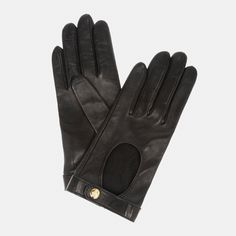 YSL driving gloves