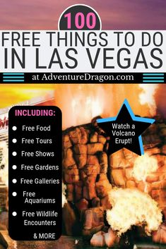 Our detailed guide to 100 Free Things to do in Las Vegas is perfect for anyone looking to visit Las Vegas for cheap or on a budget. These are the 100 best free activities on the Las Vegas Strip & in Downtown Las Vegas. Las Vegas Strip, Las Vegas Free, Paris Las Vegas, Visit Las Vegas, Las Vegas Nevada, Las Vegas In December, Las Vegas With Kids, Mgm Grand Las Vegas, Las Vegas Vacation