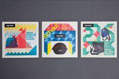Formes simples et colorées / étapes: design & culture visuelle