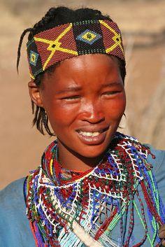 Africa | Bushmen woman, Namibia | © Rudi Roels
