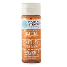 Martha Stewart Glitter Acrylic Craft Paint - Fire Opal - DIY Craft Kits, Monthly Craft Projects, Supplies, Subscription Box | Whimseybox