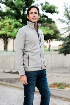 96f8a61416 the miller affect husband wearing a patagonia zip up from nordstrom  Nordstrom Anniversary Sale