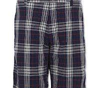 GANT Rugger Checked Twill Shorts