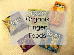 Organix Finger Foods Review | www.parenthoodhighsandlows.com