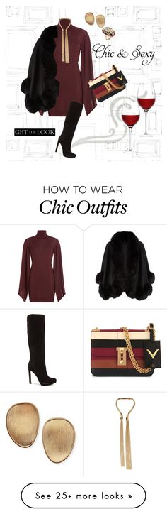 """""""Chic"""" by angelinacas on Polyvore featuring moda, Graham & Brown, Emilio Pucci, LSA International, Paul Andrew, Valentino, Giuseppe Zanotti, Marco Bicego, Harrods e Phillips House"""