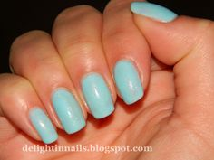Delight in Nails: Copy Cat Sat - Rebecca Likes Nails - Sinful Colors Cinderella