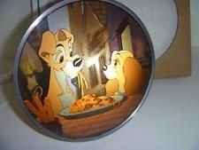 ❄Disney Lady and the Tramp Spaghetti Dinner Stained Glass Suncatcher ❄