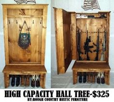 Hidden Gun Cases   Rough Country Rustic Furniture U0026 Decor